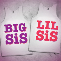 Big Sis Lil Sis Maching tanks!