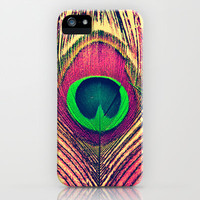 Bohemian Peacock iPhone Case by SSC Photography