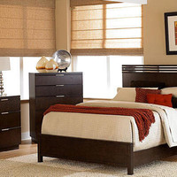 Skyline Queen Size Platform Bed