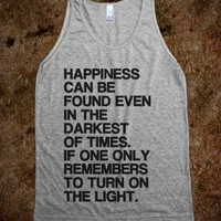 Happiness Can Be Found (Tank) - hopealittle tee&#x27;s - Skreened T-shirts, Organic Shirts, Hoodies, Kids Tees, Baby One-Pieces and Tote Bags