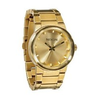 Nixon Cannon Watch - Men's All Gold, One Size: Watches: Amazon.com