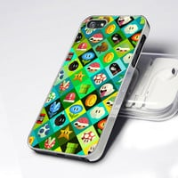 AA0075 Icon Super Mario World Game - Design for iPhone 5 case