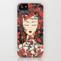 Sleeping Beauty  iPhone Case by Belle13