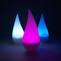 Color Changing LED Raindrop Accent Light - #W9120 | LampsPlus.com