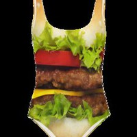 Mr. Gugu & Miss Go — Hamburger swimsuit