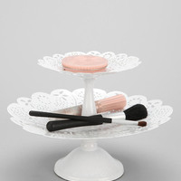 Urban Outfitters - Double-Tiered Lace Tray