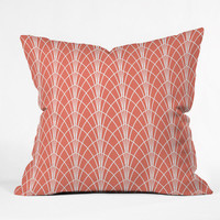 DENY Designs Home Accessories | Heather Dutton Arcada Persimmon Throw Pillow