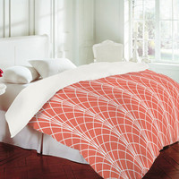 DENY Designs Home Accessories | Heather Dutton Arcada Persimmon Duvet Cover