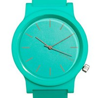 Komono Rubber Seafoam Watch at asos.com