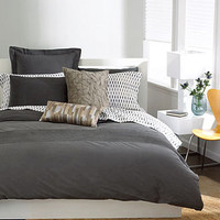 Bar III Bedding, Garment Wash Grey Collection - Bedding Collections - Bed & Bath - Macy's