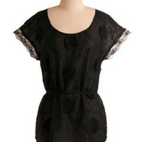 Flamenco Dancer Top | Mod Retro Vintage Short Sleeve Shirts | ModCloth.com