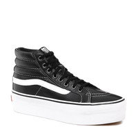 Vans | Vans SK8-Hi Platform Black High Top Trainers at ASOS