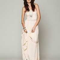 Free People Ami Pieced Lace Maxi