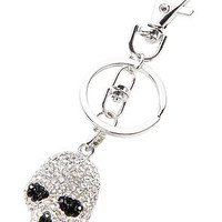 *Accessories Boutique The Silver Eyes Skull Keychain : Karmaloop.com - Global Concrete Culture
