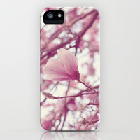 under the magnolia tree iPhone & iPod Case by Beverly LeFevre