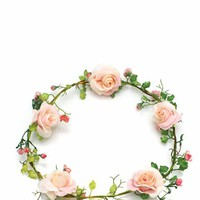 floral-vine-headband LTPINKGRN PINKGREEN - GoJane.com