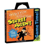 Peaceable Kingdom Press / Game Time! 'Secret Agent' Write & Wipe Activities