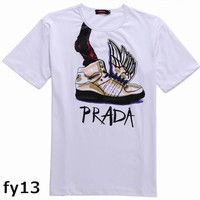 Prada Mens Short Sleeve Tee Shirts Online Buy