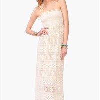 Penny Lane Maxi Dress - Ivory