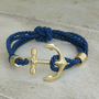 Rope and Anchor Bracelet [3950] - $17.00 : Vintage Inspired Clothing & Affordable Fall Frocks, deloom | Modern. Vintage. Crafted.