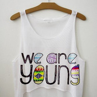 Baby you light up my world like nobody else Fresh-Tops Crop Top | fresh-tops.com