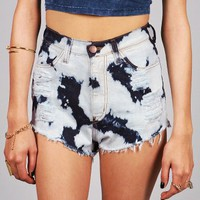 Drip High Waist Shorts | Trendy Clothes at Pink Ice