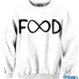 Food Infinite CrewNeck | fresh-tops.com
