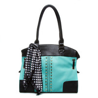 ShoeDazzle Tela Handbag
