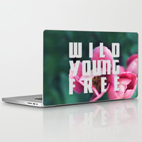 Wild Young Free Laptop & iPad Skin by Leah Flores Designs