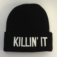 Killin It Beanie - Accessories - Women - Paper Alligator