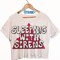 Sleeping with Sirens Crop Top | fresh-tops.com