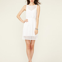Plenty By Tracy Reese Mesh Cotton Bateaux Dress