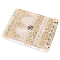 Original Hollow Lace iPad Case