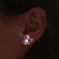 LED Crystal Earrings -