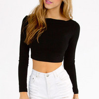 Show Boat Crop Top $26