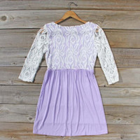 Lace & Wisteria Dress, Sweet Women's Bohemian Dresses