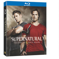 Supernatural: The Complete Sixth Season (Blu-Ray) |