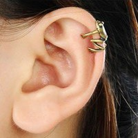 Fashion Vintage Little Frog Ear Cuff