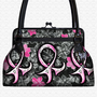 Breast Cancer Pink Ribbon Handbag