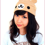 Sweety Bear Fleece Hat