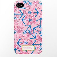 iPhone 4/4s Cover- Delta Gamma - Lilly Pulitzer