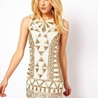 Needle & Thread Sunstone Mini Dress at asos.com