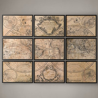L&#x27;Isle&#x27;s 1720 World Map