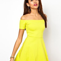 Motel Catalina Skater Dress at asos.com