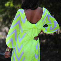 The Dream Dress: Neon Yellow | Hope&#x27;s
