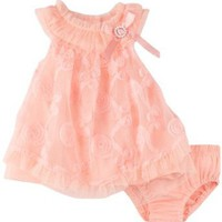 Amazon.com: Nannette Baby-girls Newborn 2 Pieces Ruffle Knit Dress And Panty: Clothing