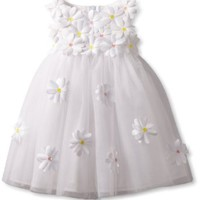 Biscotti Baby-Girls Infant Crazy For Daisies Ballerina, White, 12 Months