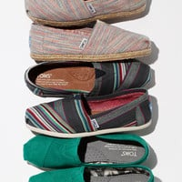 TOMS &#x27;Classic - Stripe&#x27; Denim Slip-On (Women) | Nordstrom