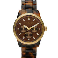 Michael Kors Tortoise Jet Set Watch