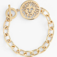 Anne Klein Lion Detail Toggle Bracelet | Nordstrom